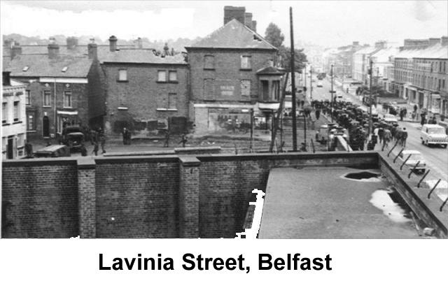 Lavinia Street in Belfast