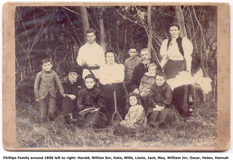 William Henry Phillips Family