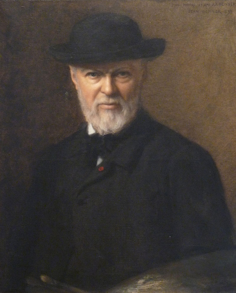 Portrait of Jean-Jacques Henner, 1899