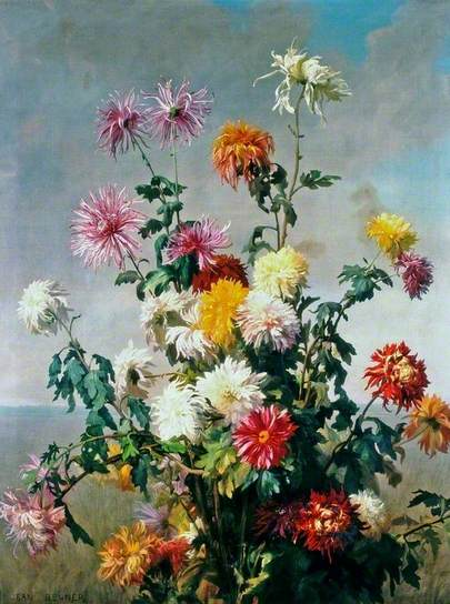 Study of Flowers, oil on canvas, Laing Art Gallery