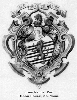 Maude Coat of Arms